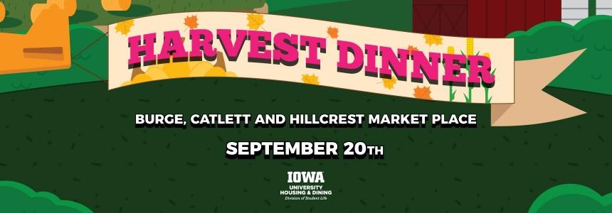 Harvest Dinner Banner