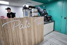 Pat's Too logo.